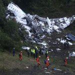 Oficial: Falta de combustível foi a causa da queda do avião da Chapecoense