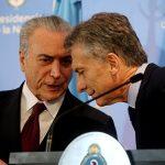 Macri visitará o Brasil na próxima semana para reunião com Temer