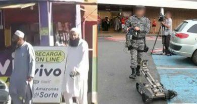População suspeita que muçulmanos teriam deixado bomba em shopping de Manaus